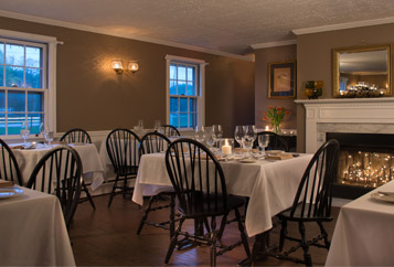 Fine dining at our New Hampshire Inn